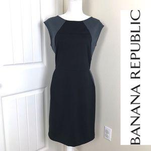 Banana Republic Sleeveless Shift Dress Sz 8